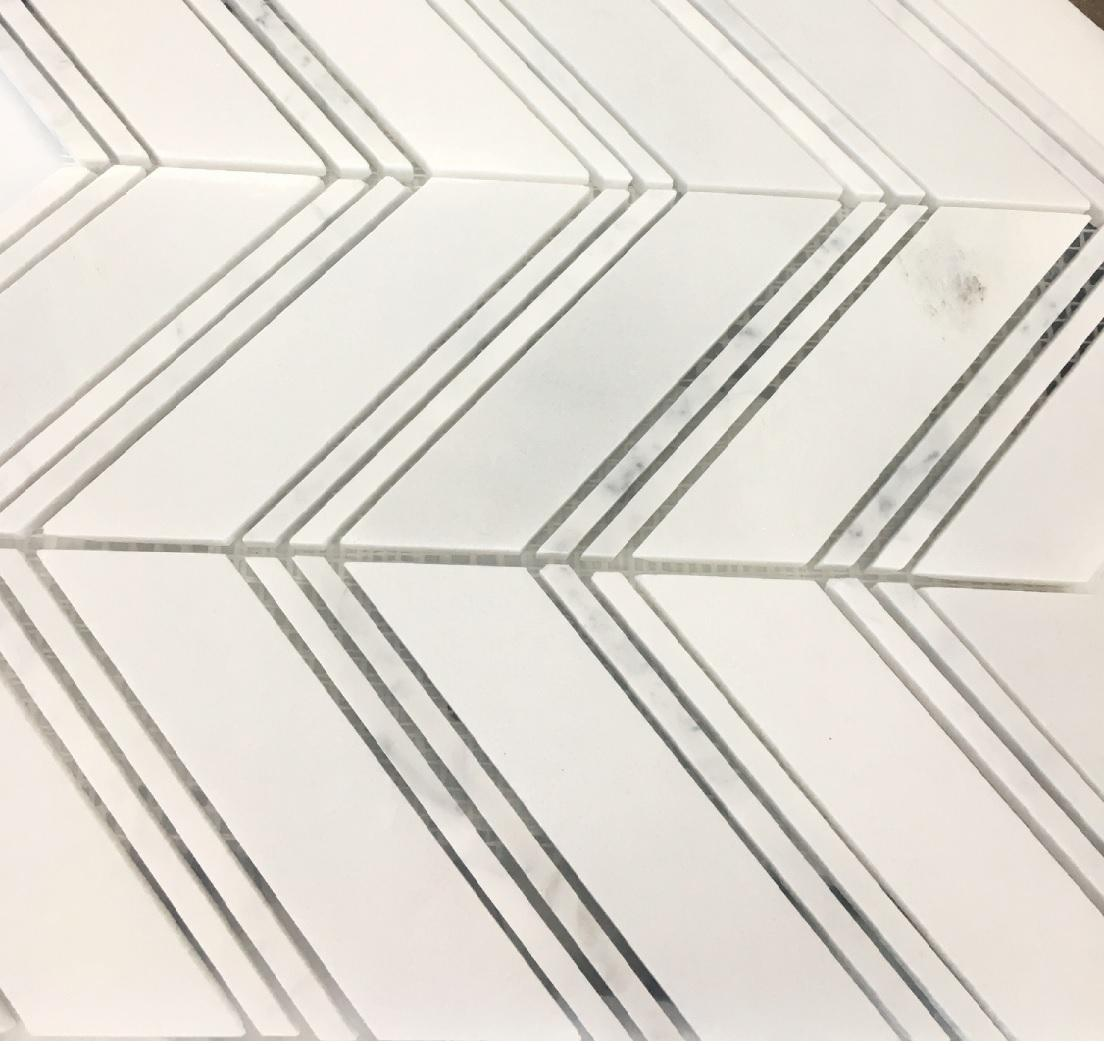 Chevron mix mosaic