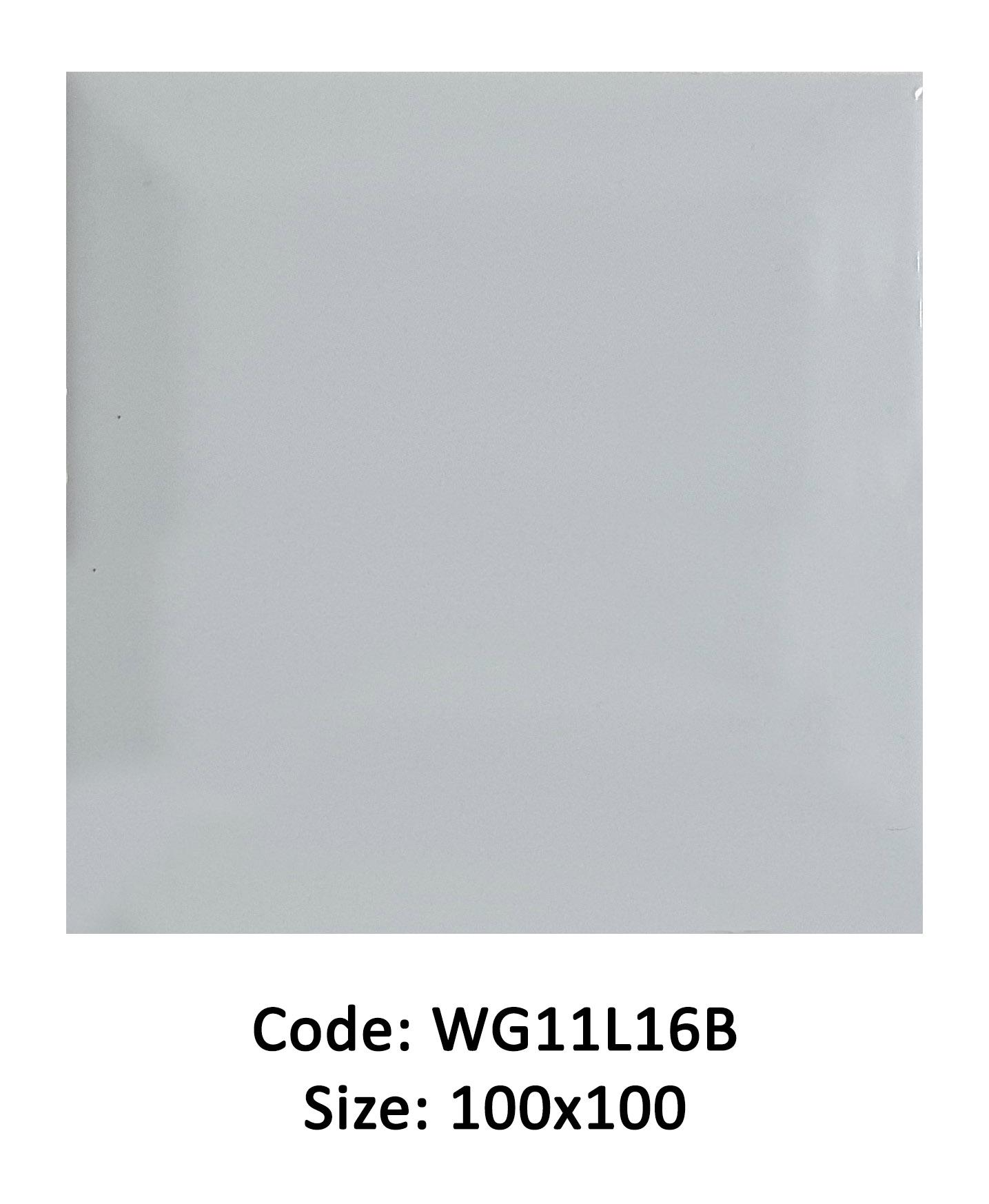AMAZ WG11L16B – Grey Gloss Bevelled Edge